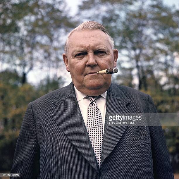 Ludwig Erhard German Politician Christian Democracy Federal Chancellor In The 1960'S