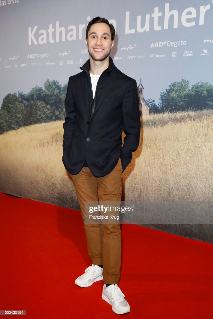 Ludwig Trepte attends the 'Katharina Luther' Premiere at Franzoesische Friedrichstadtkirche in Berlin on February 1, 2017 in Berlin, Germany.