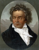 Ludwig van Beethoven German composer and pianist whose music was transitional between the Classical and Romantic