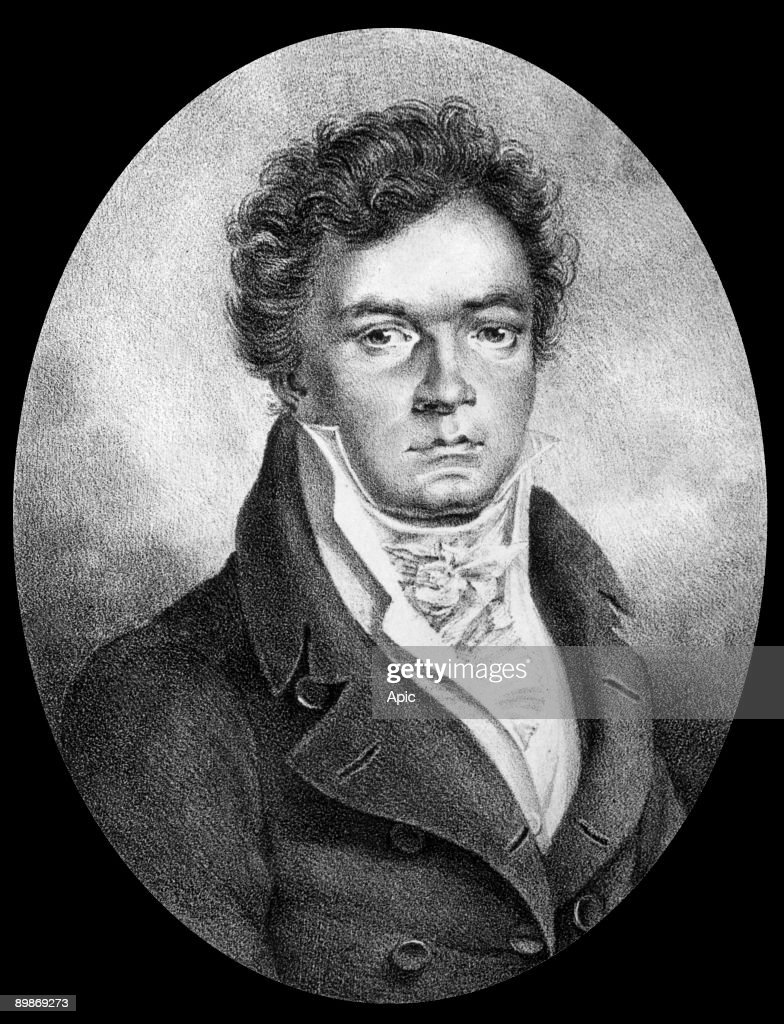 <a gi-track='captionPersonalityLinkClicked' href=/galleries/search?phrase=Ludwig+van+Beethoven&family=editorial&specificpeople=67202 ng-click='$event.stopPropagation()'>Ludwig van Beethoven</a> (1770-1827) german composer, drawing by Wintler, 1817