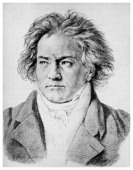 Ludwig von Beethoven German composer c18181822 One of the most famous classical music composers Beethoven's work represents a bridge between...