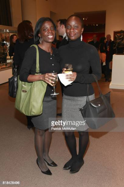Ludy Napoleon Cardine Napoleon attend The Economist and Sotheby's Present 'The Art Of Collecting Art' at Sotheby's on January 21 2010 in New York City