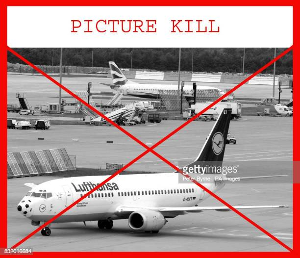 Lufthansa are not under investigation for alleged Cartel activity Lufthansa and British Airways planes wait on the tarmac at Manchester Airport...