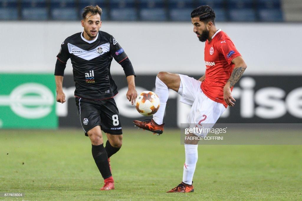 FC Lugano v Hapoel Be'er Sheva - UEFA Europa League