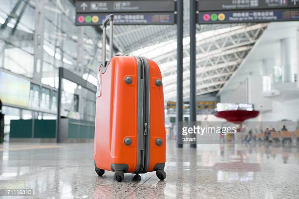 Luggage in the Airport, Guangzhou, China