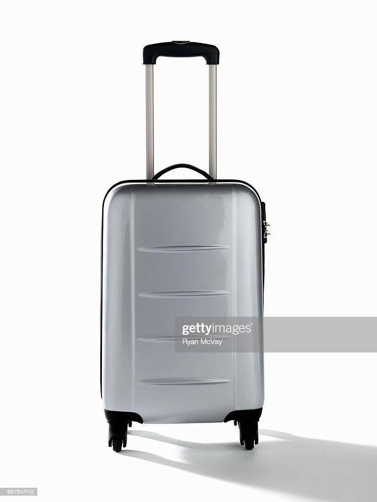 luggage on white : Foto stock