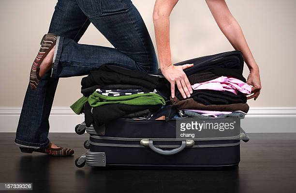 luggage stuffing