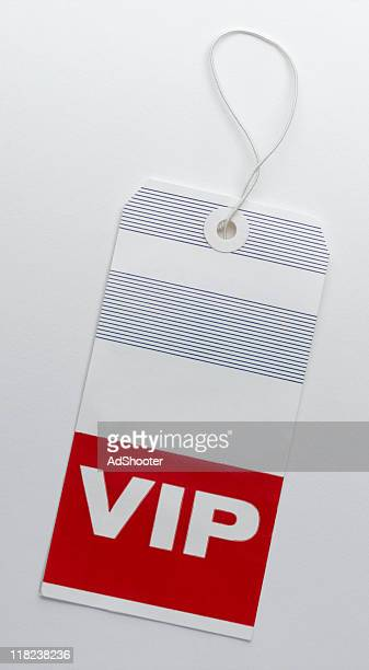 VIP Luggage Tag