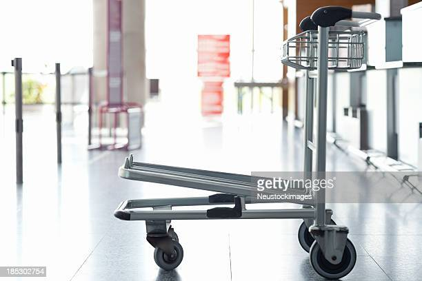 Luggage Trolley At The Airport