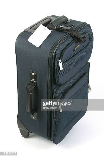 Luggage With Blank Tag Near Top, Suitcsase, Travel Bag