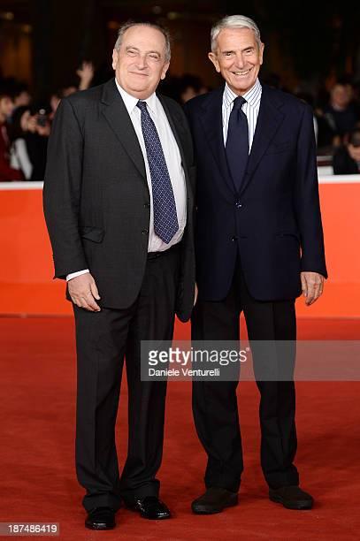 Luigi Abete and Carlo Rossella attend 'Dallas Buyers Club' Premiere during The 8th Rome Film Festival on November 9 2013 in Rome Italy
