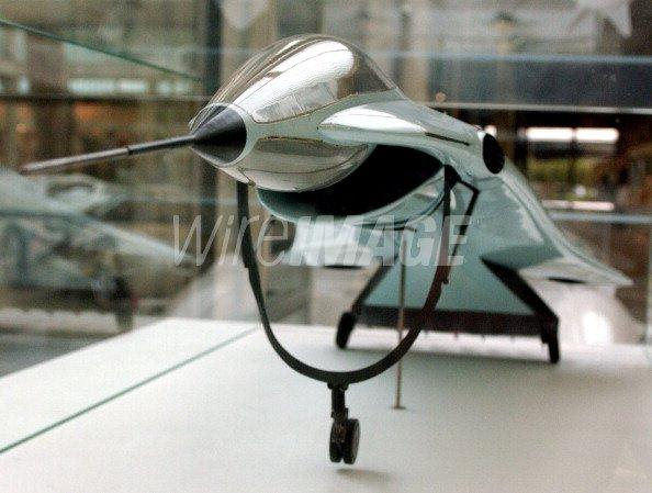 Luigi Colani Design VTOL Mach...