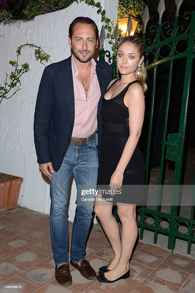 Luigi De Laurentis and Valentina De Laurentis attend Day 2 of the 2012 Ischia Global Fest on July 9, 2012 in Ischia, Italy.