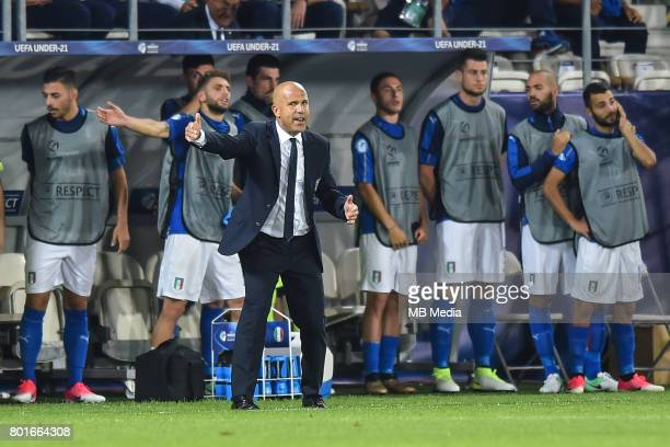 Luigi Di Biagio during the UEFA European Under21 match between Italy and Germany on June 24 2017 in Krakow Poland