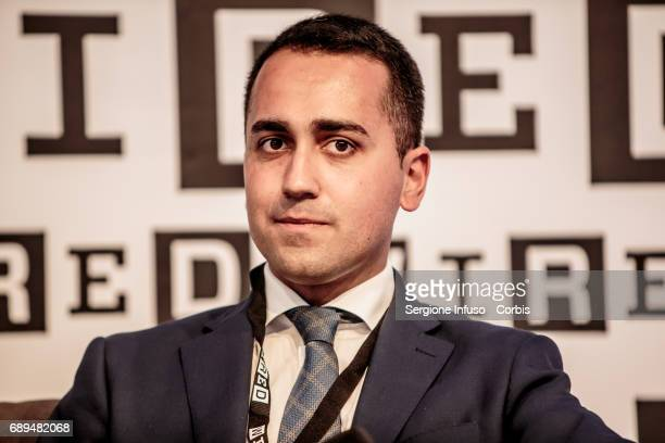 Luigi Di Maio attends Wired Next Fest 2017 at Giardini Indro Montanelli on May 28 2017 in Milan Italy