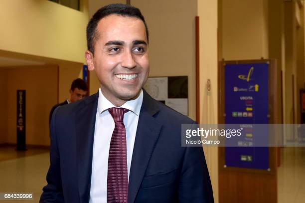 Luigi Di Maio the vice president of the Chamber of Deputies attends an event in Turin