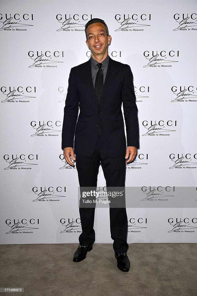 Luigi Feola attends 'Gucci Made to Measure Launch' on June 24, 2013 in Milan, Italy.
