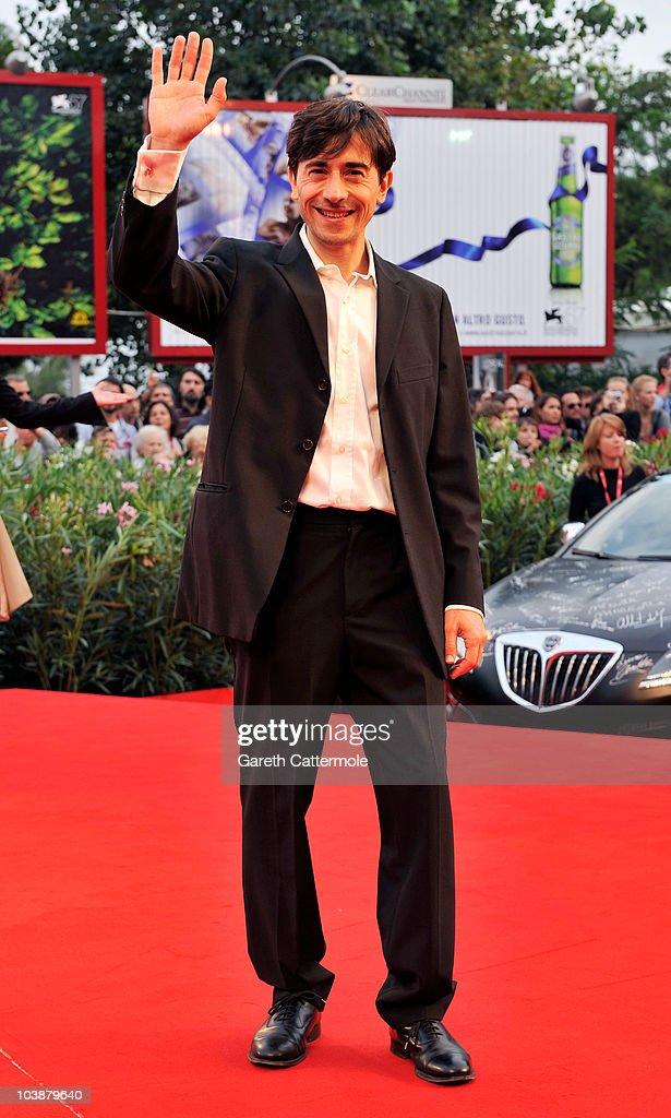 Luigi Lo Cascio attends the 'Noi Credevamo' premiere during the 67th Venice Film Festival at the Sala Grande Palazzo Del Cinema on September 7, 2010 in Venice, Italy.