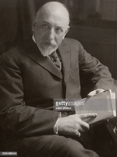 Luigi Pirandello Italian poet and writer born in Agrigente Ca 1925