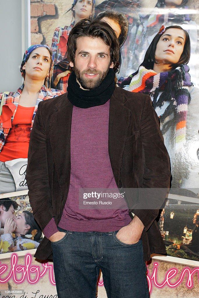 Luigi Pisani attends the 'Febbre Da Fieno' premiere at Emassy Cinema on January 27, 2011 in Rome, Italy.