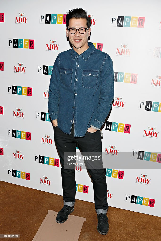 Luigi Tadini attends Paper Magazine's 16th Annual Beautiful People Party at Top of The Standard Hotel on April 2, 2013 in New York City.