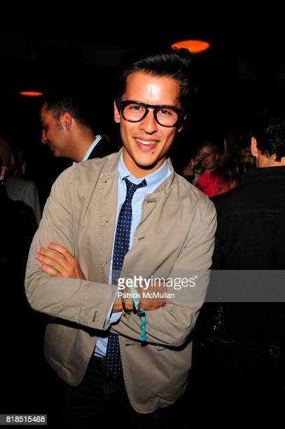 Luigi Tadini attends The Target Kaleidoscopic Fashion Spectacular Lights up New York City at The Standard on August 18 2010 in New York City