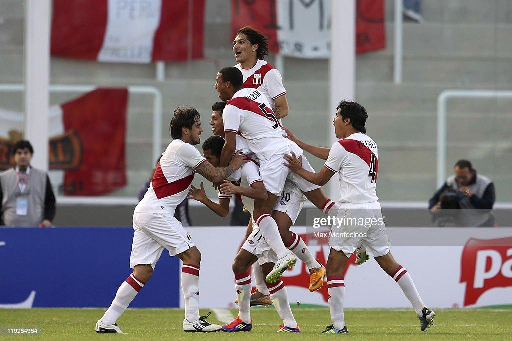peru colombia highlights full match