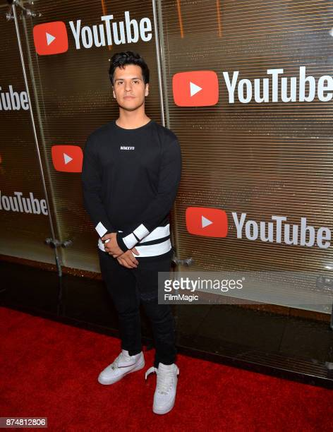 Luis Alberto Aguilera at YouTube Musica sin fronteras A Celebration of Latin Music at Jewel Nightclub at the Aria Resort Casino on November 15 2017...