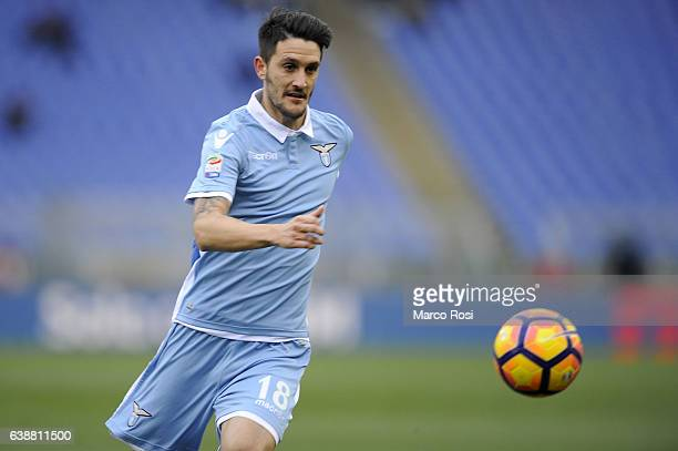 Luis Alberto of SS Lazio in action during the Serie A match between SS Lazio and FC Crotone at Stadio Olimpico on January 8 2017 in Rome Italy