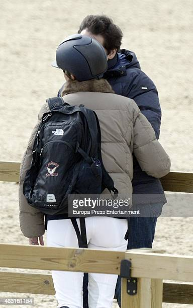 Luis Alfonso de Borbon and Margarita Vargas are seen on February 7 2015 in Mijas Spain