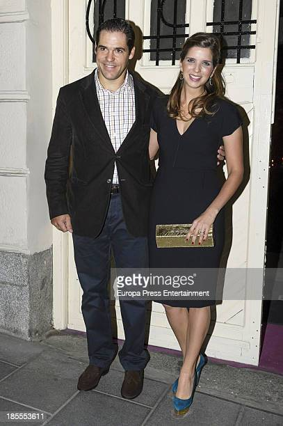 Luis Alfonso de Borbon and Margarita Vargas attend Margarita Vargas' 30th birthday party on October 21 2013 in Madrid Spain