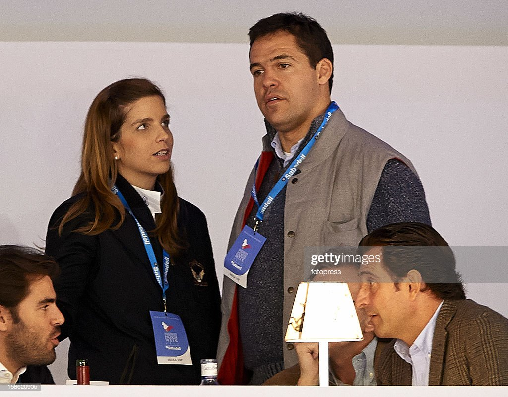 Luis Alfonso de Borbon and Margarita Vargas attend the Madrid Horse Week 2012 at IFEMA on December 21, 2012 in Madrid, Spain.