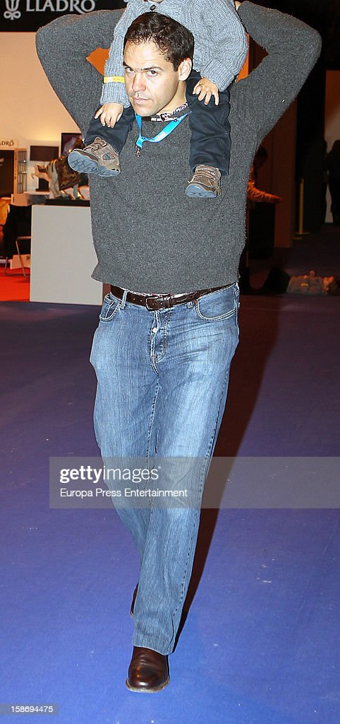 Luis Alfonso de Borbon attends Madrid Horse Week Fair 2012 at Ifema on December 22, 2012 in Madrid, Spain.