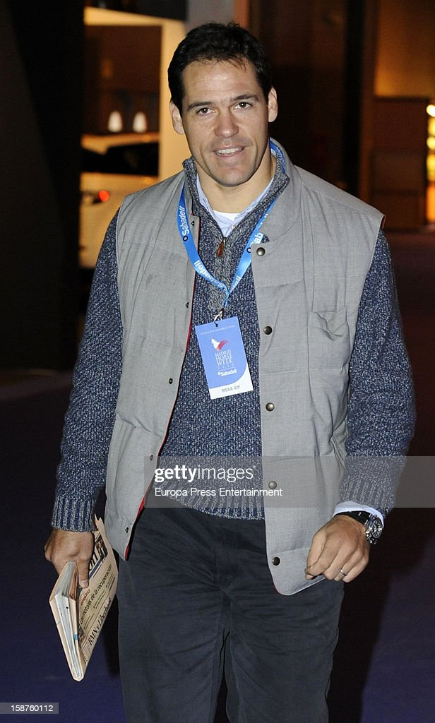 Luis Alfonso de Borbon attends Madrid Horse Week Fair 2012 at Ifema on December 21, 2012 in Madrid, Spain.
