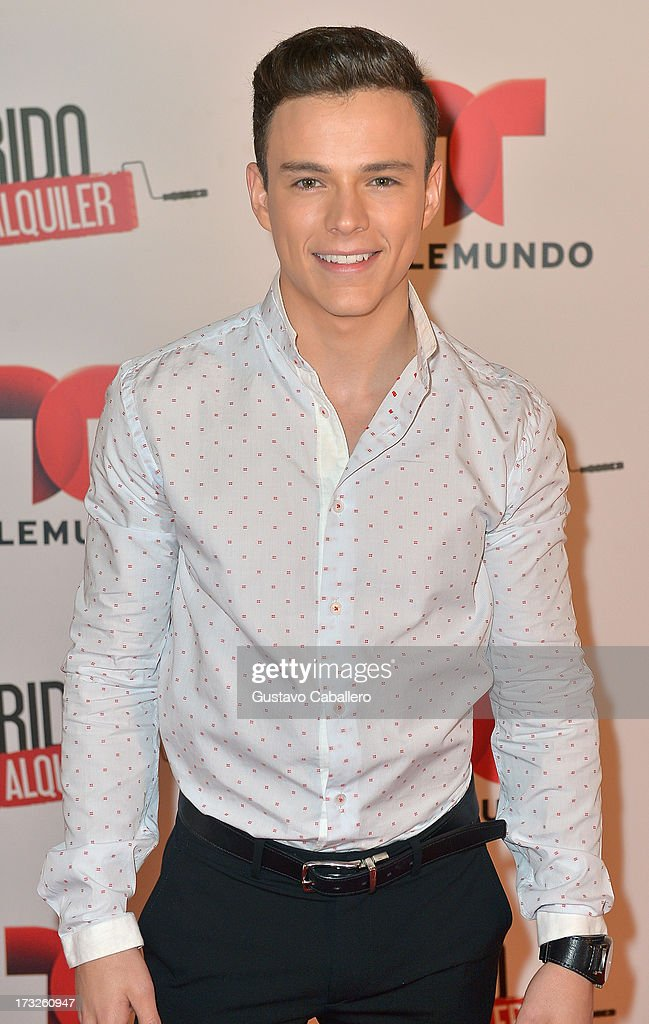 Luis Alvarez attends Telemundos 'Marido en Alquiler' Presentation on July 10, 2013 in Miami, Florida.