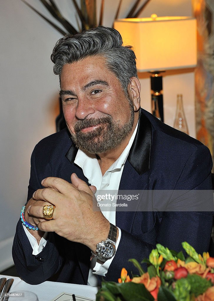 Luis Barajas attends Eva Mendes Exclusively at New York & Company Spring launch dinner at Chateau Marmont on March 18, 2014 in Los Angeles, California.