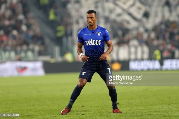 Luis Carlos Almeida da Cunha Nani of SS Lazio during the Serie A football match between Juventus FC and SS Lazio SS Lazio wins 21 over Juventus Fc