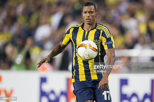 Luis Carlos Almeida da Cunha of Fenerbahce during the UEFA Europa League match between Fenerbahce SK v Molde FK on September 17 2015 at the Sukru...