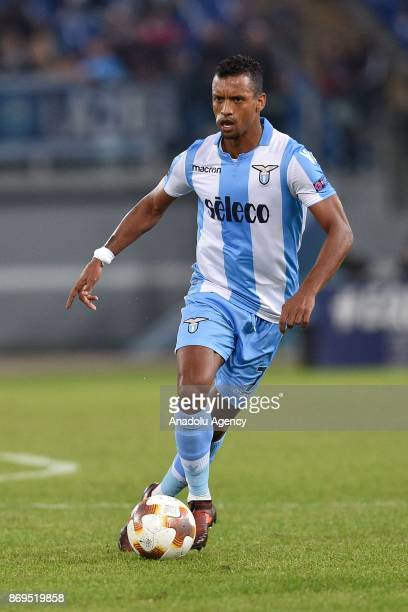 Luis Carlos Nani of SS Lazio in action during the UEFA Europa League Group K soccer match between SS Lazio and OGC Nice at Stadio Olimpico in Rome...