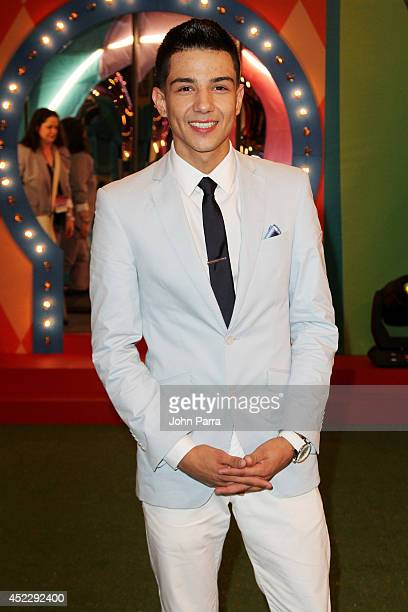 Luis Coronel attends the Premios Juventud 2014 at The BankUnited Center on July 17 2014 in Coral Gables Florida