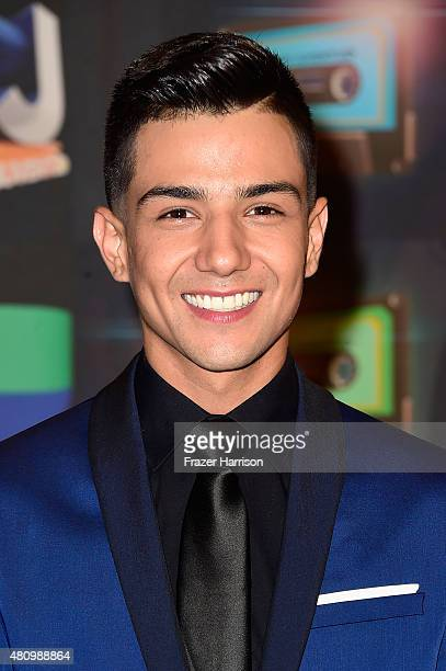 Luis Coronel attends Univision's Premios Juventud 2015 at Bank United Center on July 16 2015 in Miami Florida