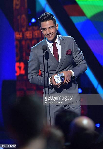 Luis Coronel onstage at the Univision's 13th Edition Of Premios Juventud Youth Awards at Bank United Center on July 14 2016 in Miami Florida
