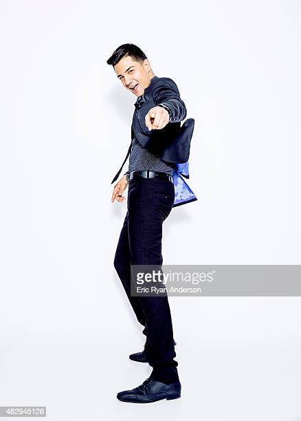 Luis Coronel poses for a portraits at the 2015 Billboard Latin Music Conference for Billboard Magazine on April 29 2015 in Miami Florida