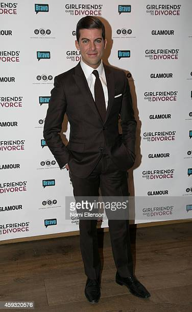Luis D Ortiz attends 'Girlfriend's Guide To Divorce' New York Series Premiere at Crosby Street Hotel on November 20 2014 in New York City