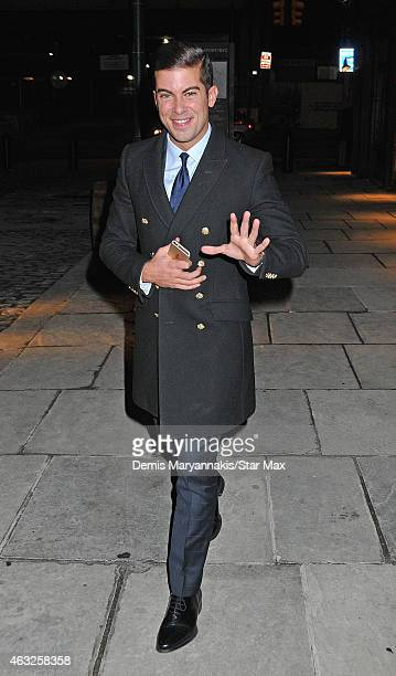 Luis D Ortiz is seen on February 11 2015 in New York City