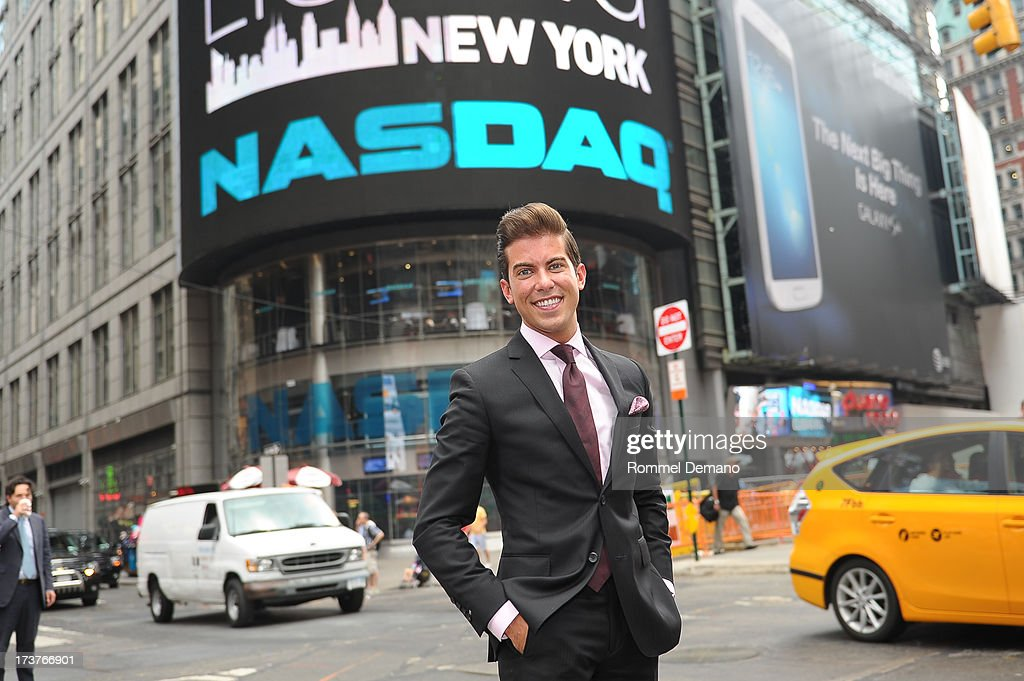 Luis D Ortiz rings the NASDAQ closing bell at NASDAQ MarketSite on July 17, 2013 in New York City.
