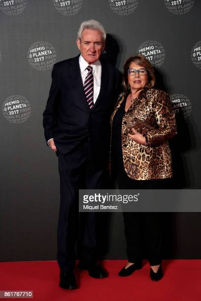 Luis del Olmo and Mercedes Gonzalez attend the '66th Premio Planeta' Literature Award the most valuable literature award in Spain with 601000 euros...