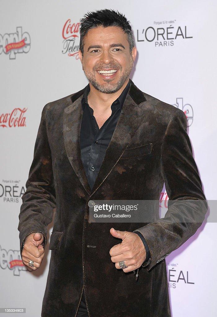 Luis Enrique attends People en Epanol's Las Estrellas del Ano 2011 at Rubell Family Collection on December 8, 2011 in Miami, Florida.