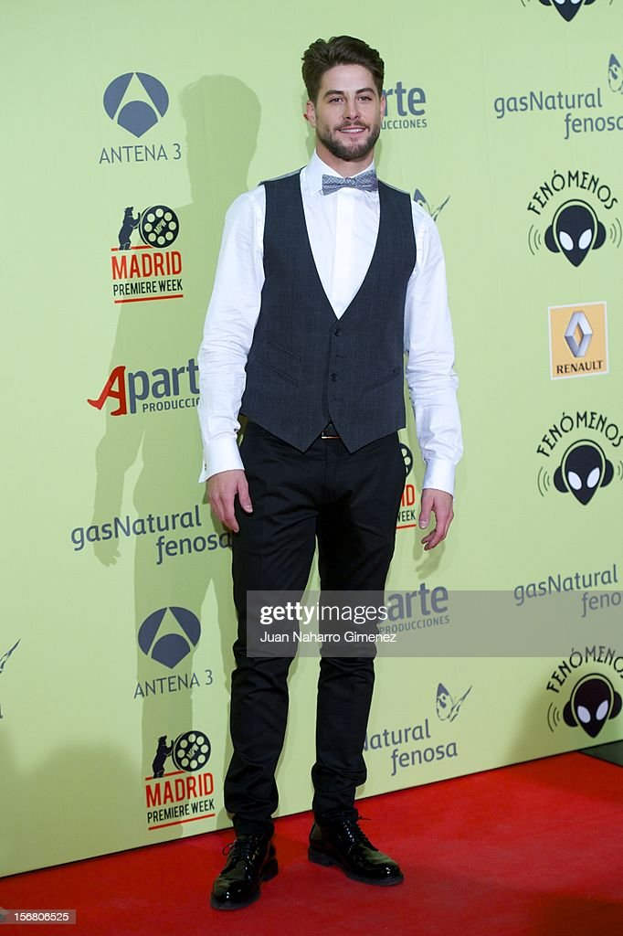 Luis Fernandez attends 'Fenomenos' Premiere at Callao Cinema on November 21, 2012 in Madrid, Spain.