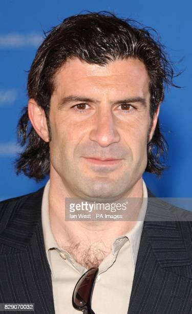 Luis Figo during the fifth annual Laureus Sports Awards at Centro Cultural de Belem in Lisbon Portugal